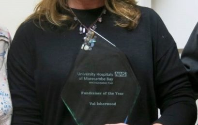 TigerLily Trust – Winner of Fundraiser of the Year at the Your Health Heroes Awards 2016